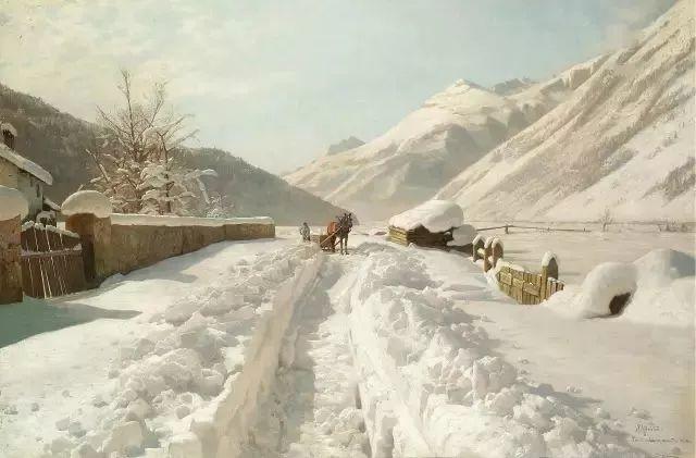 他的画描绘了一派祥和的田园风光,安静美好插图16