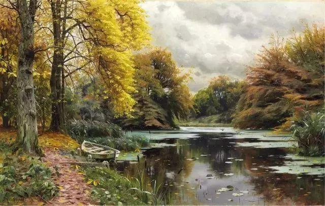 他的画描绘了一派祥和的田园风光,安静美好插图25
