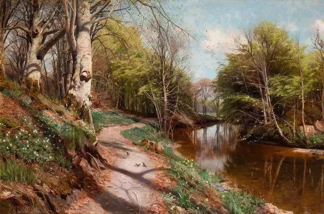 他的画描绘了一派祥和的田园风光,安静美好插图57