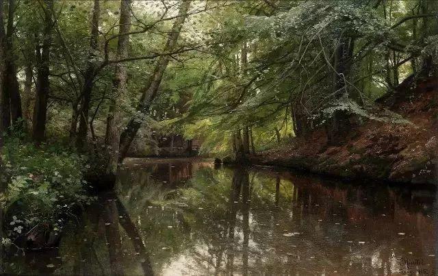 他的画描绘了一派祥和的田园风光,安静美好插图79