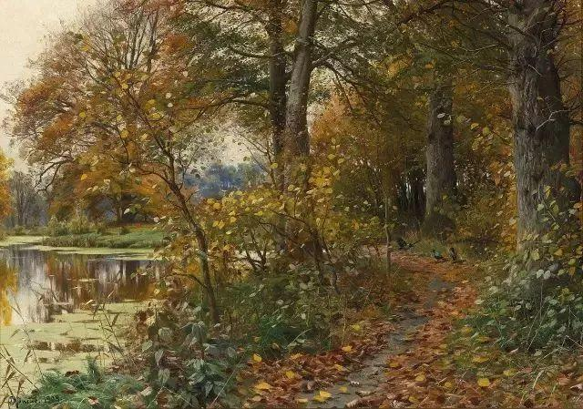 他的画描绘了一派祥和的田园风光,安静美好插图81