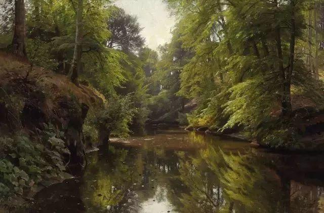 他的画描绘了一派祥和的田园风光,安静美好插图83