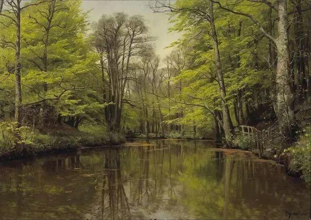 他的画描绘了一派祥和的田园风光,安静美好插图44