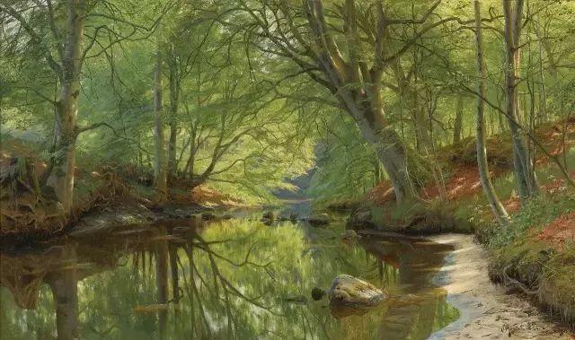 他的画描绘了一派祥和的田园风光,安静美好插图93