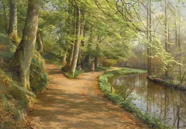 他的画描绘了一派祥和的田园风光,安静美好插图99