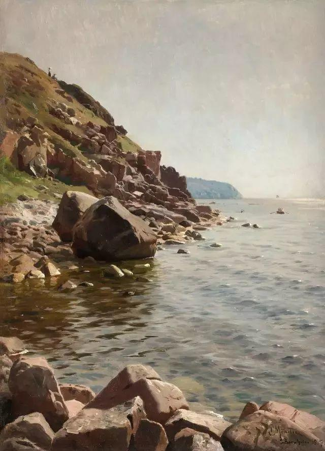 他的画描绘了一派祥和的田园风光,安静美好插图109