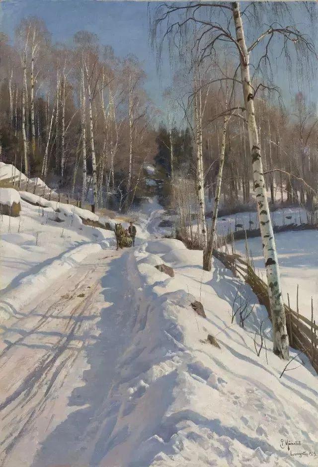 他的画描绘了一派祥和的田园风光,安静美好插图123