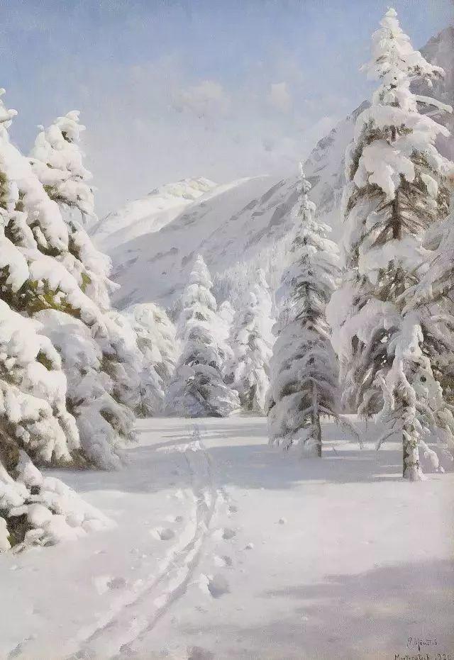 他的画描绘了一派祥和的田园风光,安静美好插图125