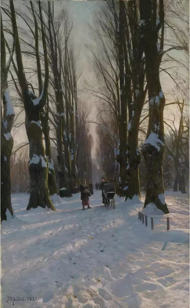 他的画描绘了一派祥和的田园风光,安静美好插图129