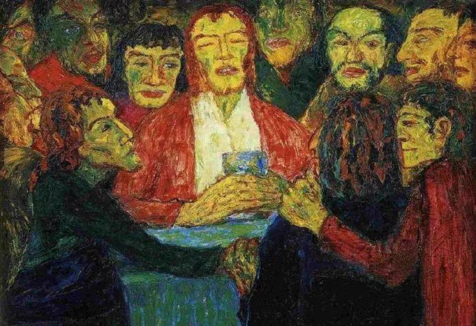 最早的表现主义者之一 德国画家诺尔德插图5