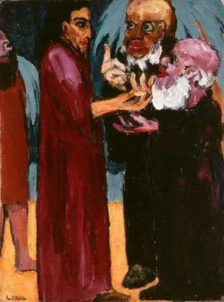 最早的表现主义者之一 德国画家诺尔德插图29