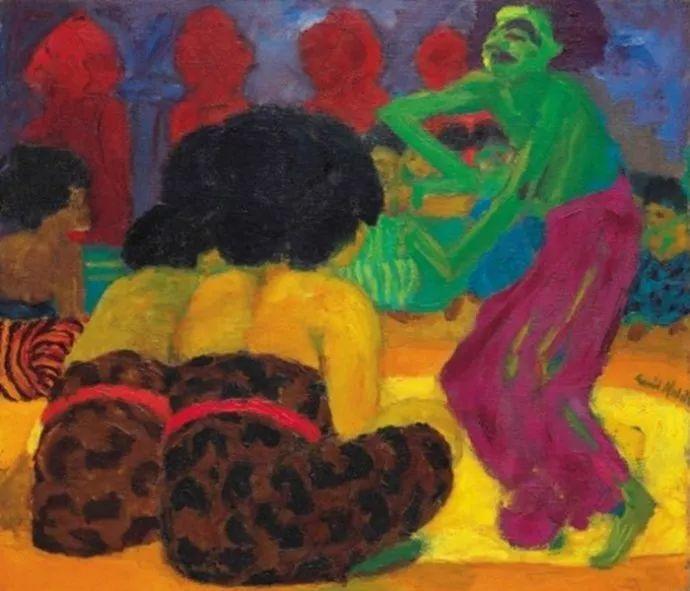 最早的表现主义者之一 德国画家诺尔德插图37