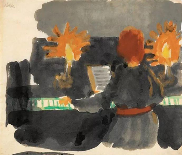 最早的表现主义者之一 德国画家诺尔德插图43