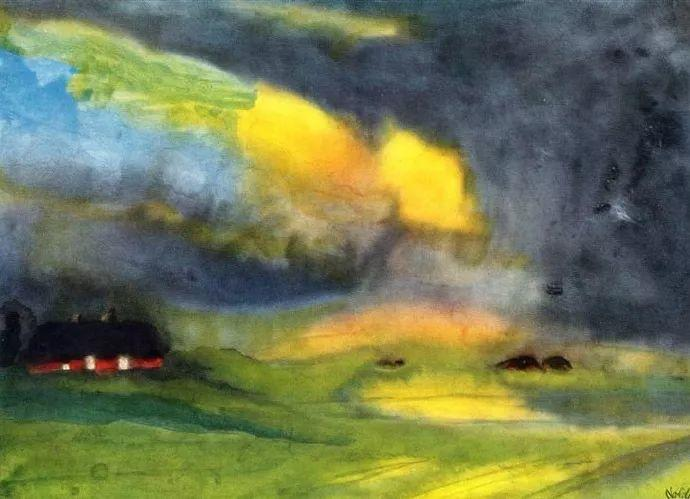 最早的表现主义者之一 德国画家诺尔德插图49