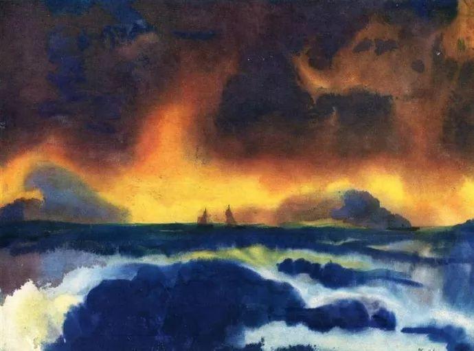 最早的表现主义者之一 德国画家诺尔德插图51