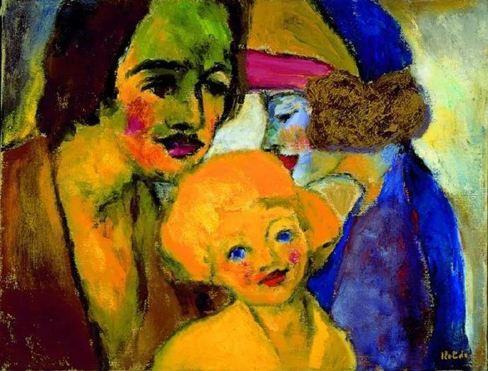 最早的表现主义者之一 德国画家诺尔德插图55