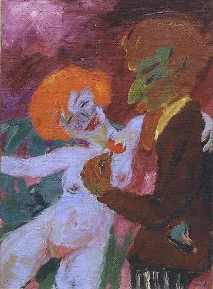 最早的表现主义者之一 德国画家诺尔德插图57