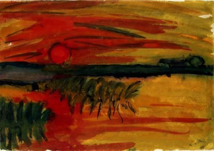 最早的表现主义者之一 德国画家诺尔德插图61
