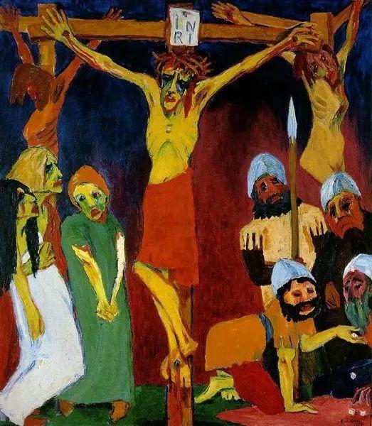 最早的表现主义者之一 德国画家诺尔德插图63