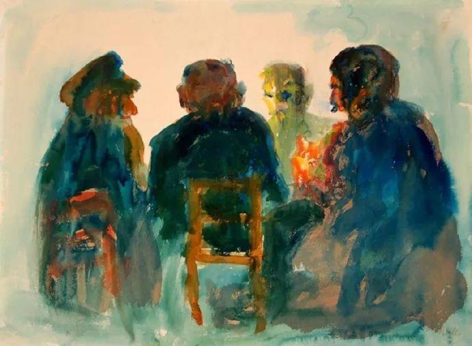 最早的表现主义者之一 德国画家诺尔德插图65
