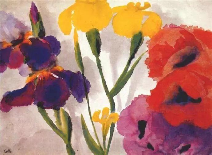 最早的表现主义者之一 德国画家诺尔德插图69