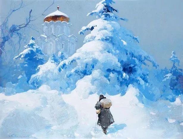油画中的大美自然,迷人的乌克兰风情插图1