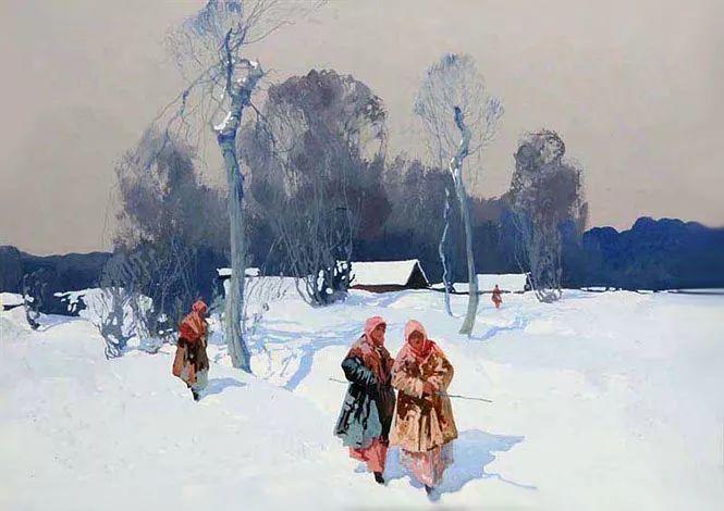 油画中的大美自然,迷人的乌克兰风情插图3