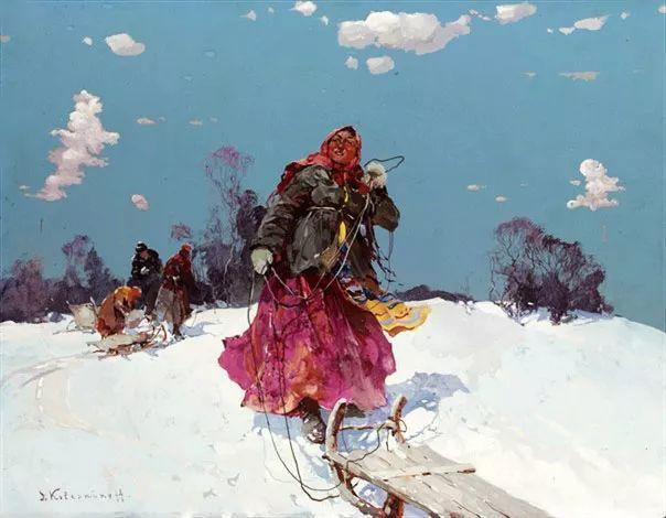 油画中的大美自然,迷人的乌克兰风情插图5