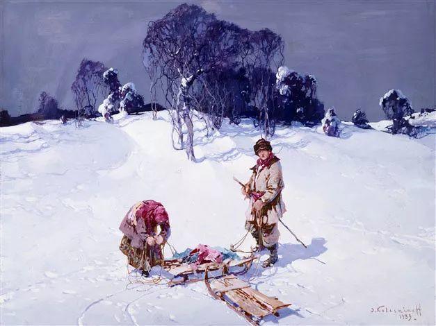 油画中的大美自然,迷人的乌克兰风情插图9