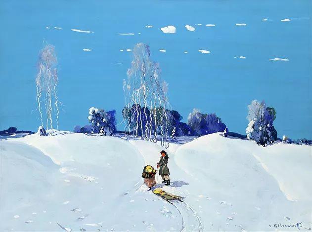 油画中的大美自然,迷人的乌克兰风情插图11