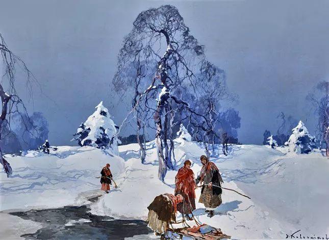 油画中的大美自然,迷人的乌克兰风情插图13