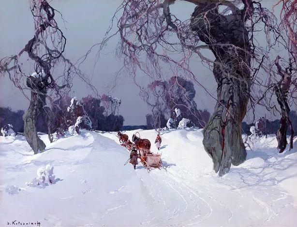 油画中的大美自然,迷人的乌克兰风情插图15