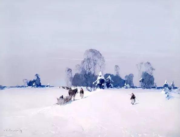 油画中的大美自然,迷人的乌克兰风情插图17