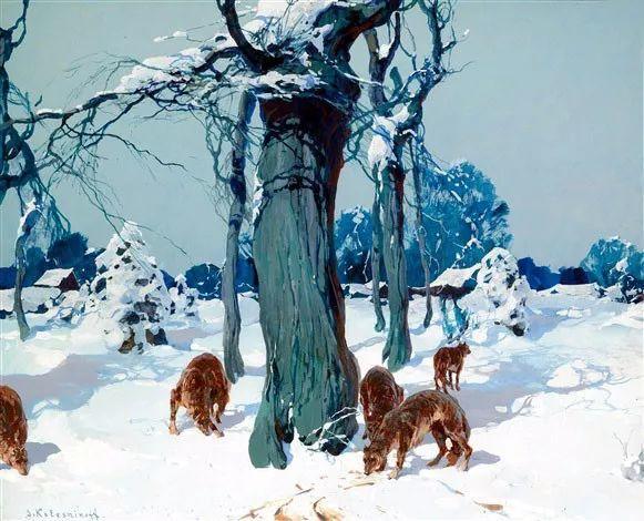 油画中的大美自然,迷人的乌克兰风情插图19
