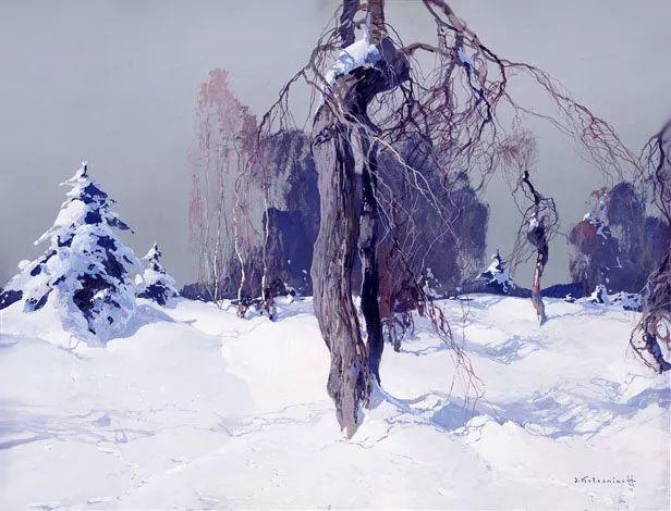 油画中的大美自然,迷人的乌克兰风情插图21