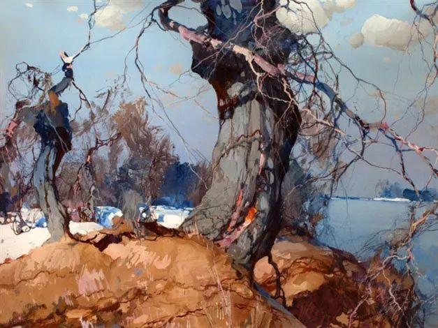 油画中的大美自然,迷人的乌克兰风情插图23