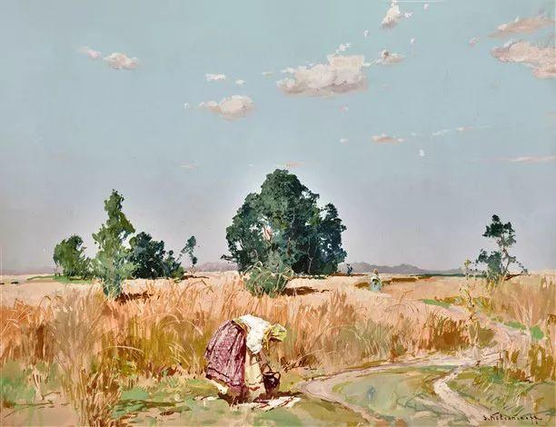 油画中的大美自然,迷人的乌克兰风情插图25