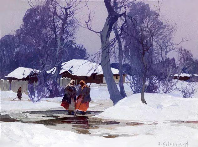 油画中的大美自然,迷人的乌克兰风情插图27
