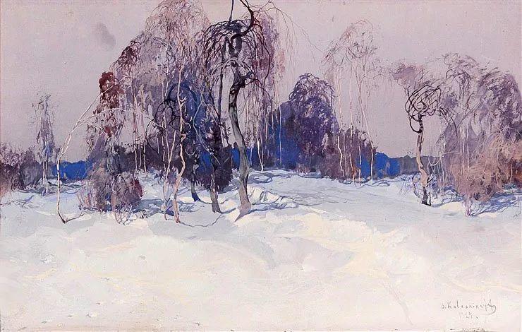 油画中的大美自然,迷人的乌克兰风情插图29