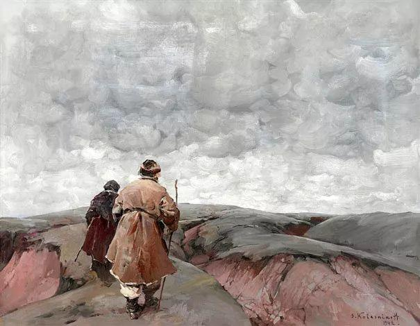 油画中的大美自然,迷人的乌克兰风情插图33
