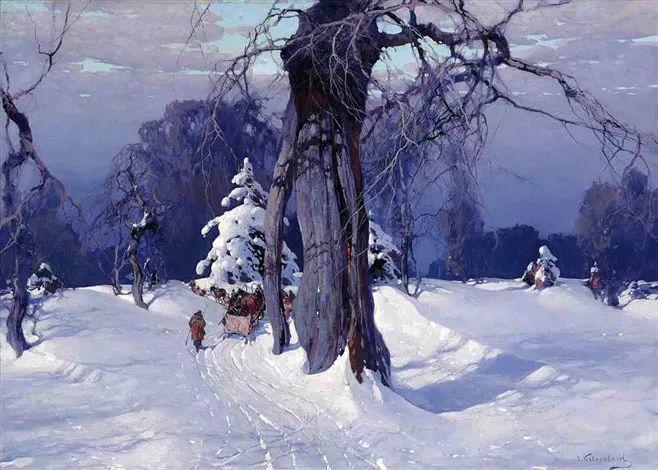 油画中的大美自然,迷人的乌克兰风情插图35