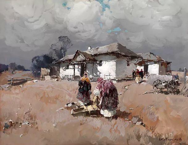 油画中的大美自然,迷人的乌克兰风情插图37