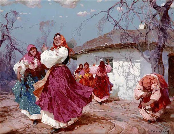 油画中的大美自然,迷人的乌克兰风情插图39