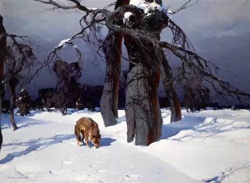 油画中的大美自然,迷人的乌克兰风情插图41