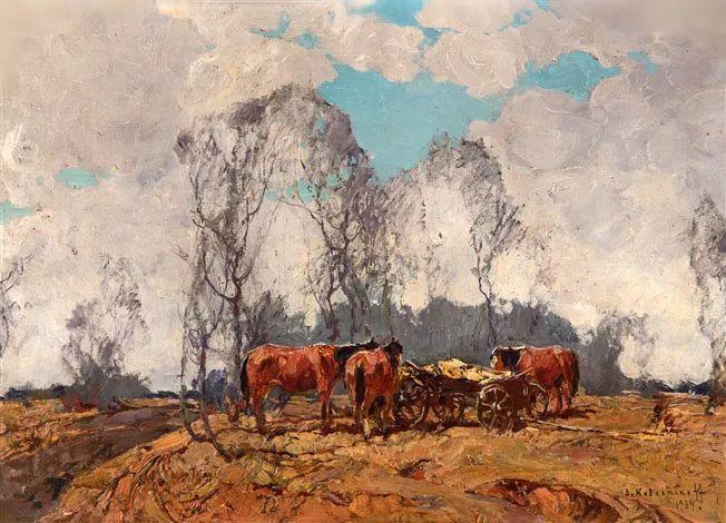 油画中的大美自然,迷人的乌克兰风情插图43