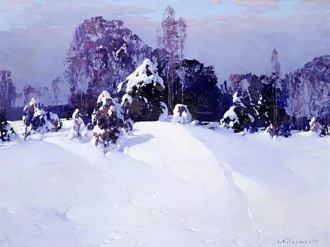 油画中的大美自然,迷人的乌克兰风情插图45