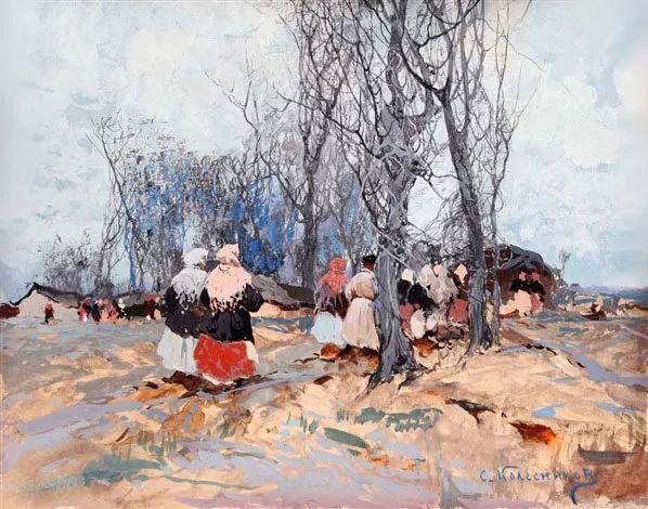 油画中的大美自然,迷人的乌克兰风情插图47