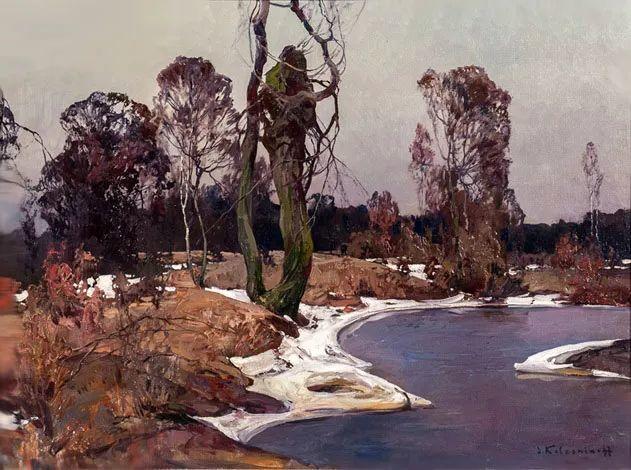 油画中的大美自然,迷人的乌克兰风情插图57
