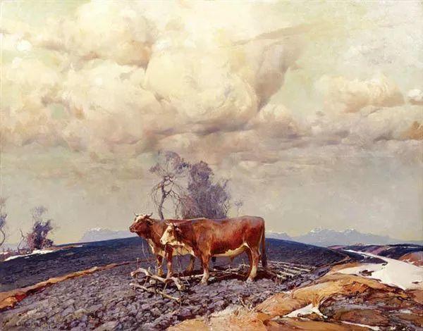 油画中的大美自然,迷人的乌克兰风情插图59