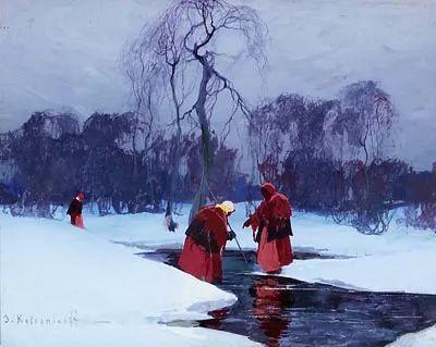 油画中的大美自然,迷人的乌克兰风情插图61